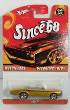 Hot Wheels 1:64 40th Anniversary Since 68 - Pontiac GTO 1967 Convertib Brand new