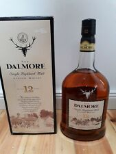 The Dalmore 12 Jahre Single Highland Malt Scotch Whisky1 Liter 43% mit Karton