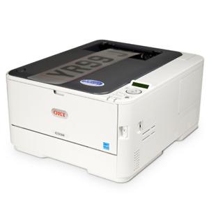 OKI C332dn A4 Colour Laser Printer Duplex, Number Plate / White Ink Printer