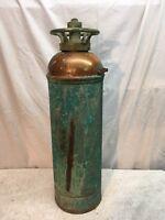 Vintage   Fire Extinguisher, Brass & copper, empty