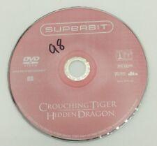Crouching Tiger Hidden Dragon Dvd Disc Only First Class Shipping