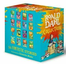 New Roald Dahl Collection Phizz Whizzing 16 Classic Story Books Box Set Free Pos