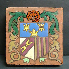 Antique Shield Tile from Spain