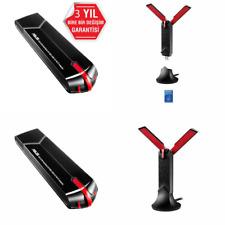 ASUS USB-AC68 Dual-Band Wireless AC1900 USB Adapter, USB 3.0, 2 x External Adjus