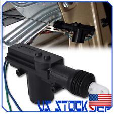 Universal 2 Wires 12V Car Auto Motor Heavy Duty Power Door Lock Actuator Black