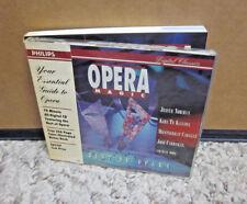 OPERA MAGIC collection Bizet Mozart CD Wagner Verdi w/ 256-page book 1993 Straus