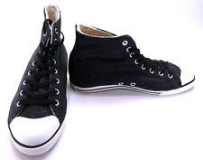 7a0fd6a3d LaCoste Shoes L27 Hi 4 SRM Textured Canvas/Wool Black/White Sneakers Size 8