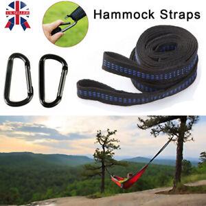 2 Straps Hanging Chair Belt Mountain Warehouse Hammock Strap Set
