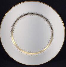 "1 Mikasa Narumi Bryn Mawr Bread Plate Bone China Gold Trim 6.5"" Dia MCM"