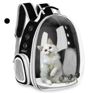 Pet Cat Puppy Carrier Breathable Bag Backpack Airline Approve Outdoor Travel Kit