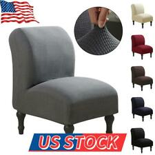 Spandex Slipcover Stretch Armless Chair Accent Chair Cover Protector Elastic HOT
