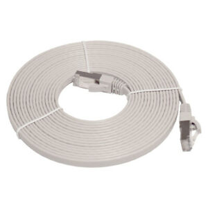 LinITX PRO SERIES FLAT CAT7 UTP ETHERNET PATCH CABLE - 5M GREY