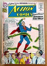 ACTION COMICS #295 (1962) Silver Age DC Superman; Supergirl, Lori Lemaris; VG+