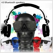 Skull Shape Wireless Bluetooth Speaker