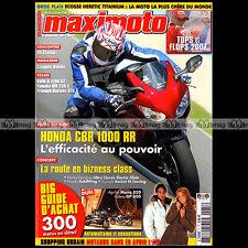 MAXIMOTO N°71 BMW R 90 S R1200 GS HONDA CBR 1000 RR GL 1800 GOLD WING 2008