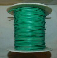 FIL ELECTRIQUE VERT NEUF POUR CABLAGE RESEAU 0,8mm / 20ml . HO, N, Z, 0, 1, etc.