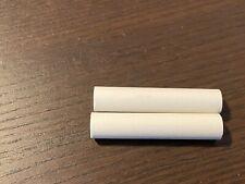 "2 New Ceramic Insulators Standoffs for Tube Amp 2.5"" x .5"" 6-32 Cylinders (Qty)"