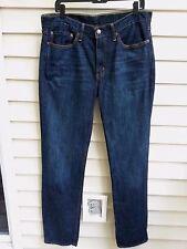 Levis Denim Jeans Size 34 x 34  SLIM Straight 514