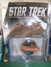 STAR TREK STARSHIPS FIGURE COLLECTION #106 Kazon Raider EAGLEMOSS