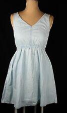 H&M BNWT Cotton Chambray Pocket Dress Sz 10
