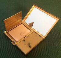 Vintage,AGME, Swiss Musical Powder Compact, 'When Irish Eyes Are Shining'
