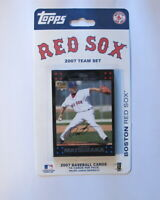 Boston Red Sox 2007 Topps Factory Sealed Team Set Daisuke Matsuzaka Rookie Ortiz
