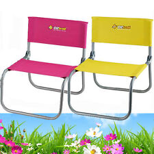 2 x OZTRAIL AVOCA Portable Camp Picnic Beach Chair (110kg Rated) Camping Low
