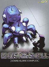 Ghost in the Shell: Stand Alone Complex - Vol. 7 (DVD, 2005) ~ Brand New, Sealed