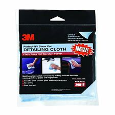 3M 39015 Show Car Detailing Cloth Light Blue, 12 in x 14 in