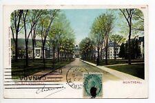 CANADA carte postale ancienne MONTREAL université Mc gill
