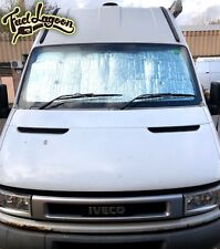 Iveco Thermal Window Screen Silver Black Out Blind Camper Shade Deluxe 2006-2011