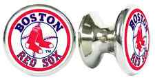BOSTON RED SOX MLB DRAWER PULLS / CABINET KNOBS!