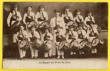cpa PARIS FANFARE MUSIQUE ENFANTS TAMBOUR Le Rappel du POINT du JOUR Band Drum