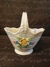 Belleek Irish Porcelain Basket / St. Patrick's Day - Made In Ireland / NIB
