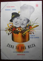 1963 Original Movie Poster La Cuissine Au Beurre Grangier Fernandel Bourvil