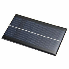 6V 1W Sonnenkollektor Solaranlage Solar Panel DIY für Licht Handy Chargers