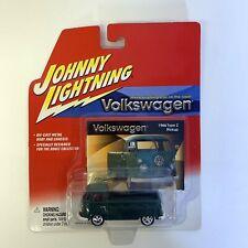 Johnny Lightning 1966 Volkswagen Type 2 Pick Up Truck Green Die Cast Car NEW