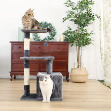 Cat Tree Scratching Post Scratcher Tower Condo House Furniture Activity Centre