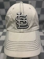 St Louis CARDINALS Baseball MLB White Adjustable Adult Cap Hat