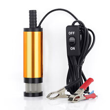 12V Car Submersible Diesel Fuel Water Oil Transfer Pump Camping Pump 12 L/Min 3M