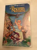 Walt Disney Black Diamond VHS Tape Classic The Rescuers Down Under USA