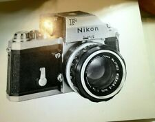 Nikon F Photomic Ftn Finder Camera Manual instructions Owner Guide English