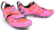 Pearl Izumi Women Tri Fly V Carbon Triathlon Shoes EU 38 US 7 Pink 3 Bolt Race