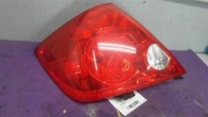 Driver Tail Light Without LED Lamps Red Lens Fits 05-07 SCION TC 244702