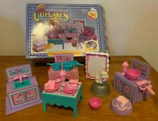1990 Vintage Tonka Cupcakes Doll Cake and Ice Cream Kitchen Playset- Complete