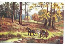 E. Longstaffe - Horse-Drawn Cart - Tuck