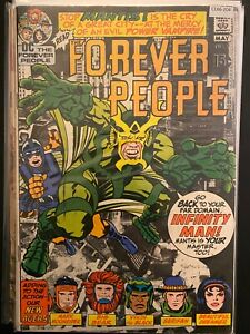 Forever People 2 Lower Grade DC Comic Book CL66-204