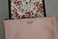 GUCCI BLOOM BEAUTY Peach/Pink Makeup Pouch Cosmetic Travel Bag-NEW IN BOX
