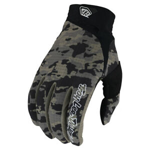Troy Lee Designs AIR Gloves - Camo Army Green - Motocross, BMX, MTB