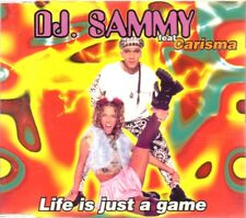 DJ SAMMY LIFE IS JUST A GAME CARISMA CD Single Techno HOUSE DANCE MAX MUSIC